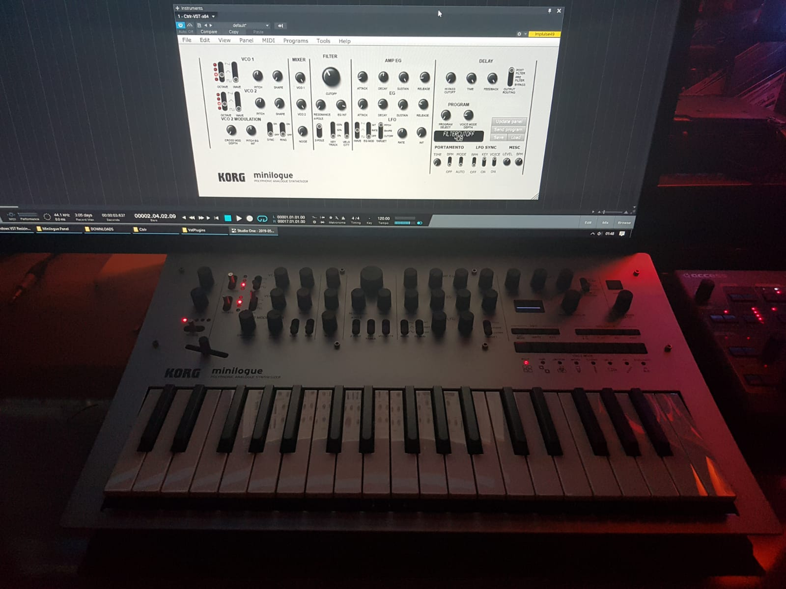 Korg Minilogue Editor Vst and Standalone (Windows&Mac) – Bilal Cetiner
